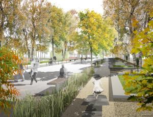 Urbanisticko-architektonická soutěž – Městský park Košice